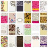 Cartão ornamental — Vetorial Stock