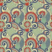 Старинный цветочный бесшовный образец — Cтоковый вектор
