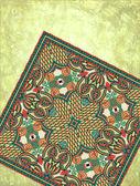 Grunge pozadí s koberec detail — Stock vektor