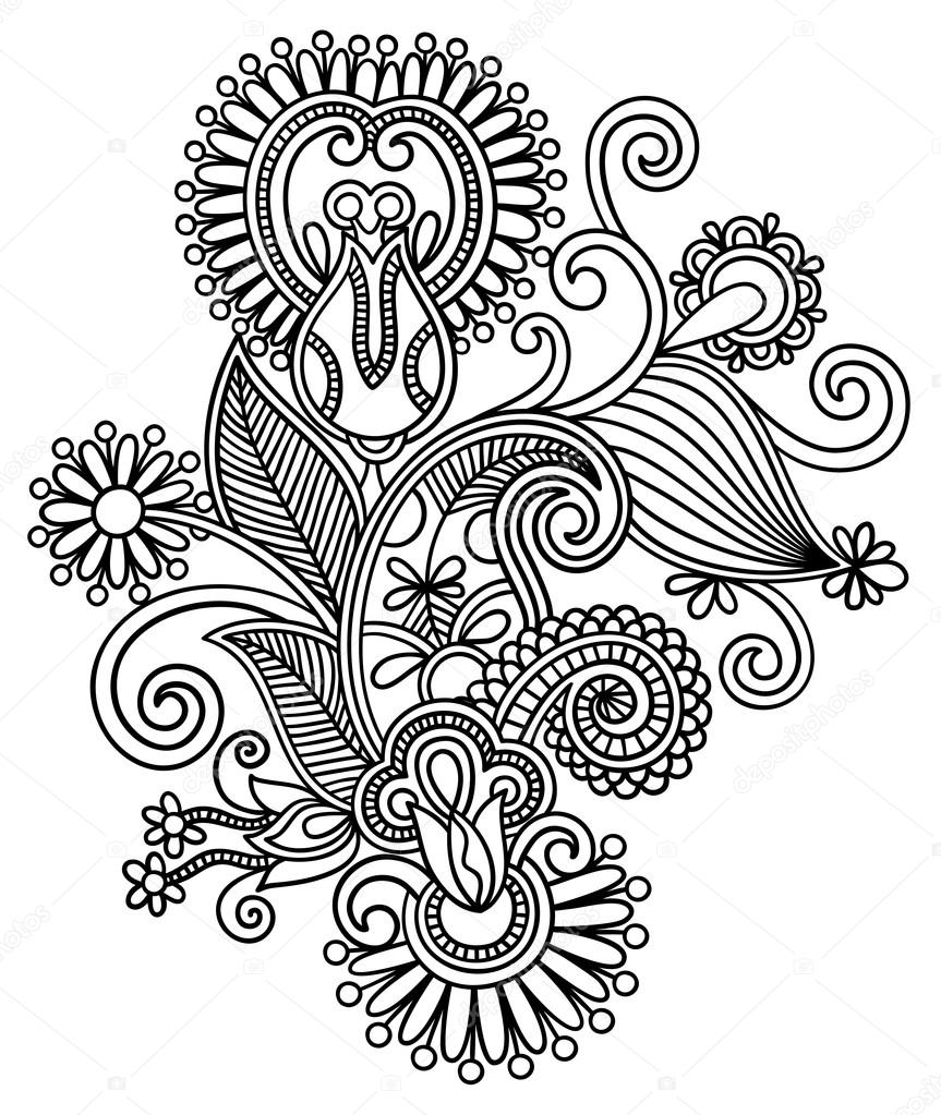 Intricate Design Coloring Pages amp Pictures IMAGIXS