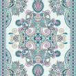 Ukrainian Oriental Floral Ornamental Seamless Carpet Design — Stock Vector #13540763