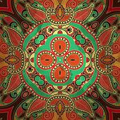 Flower design on grunge background — Stockvector