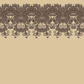Ornate floral background with lace for design — Stock vektor