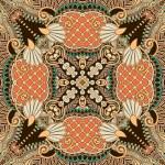 Traditional ornamental floral paisley bandanna — Stock Vector #17758453