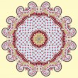 Circle ornament, ornamental round lace - Grafika wektorowa