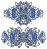 Ornamental ornamentação floral — Vetorial Stock