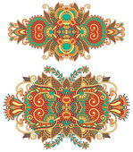 Ornamental floral adornment for your design — Stockvector