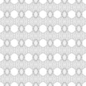 抽象的なシームレスな背景が白のジオメトリ — ストックベクタ