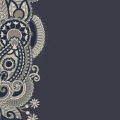 華やかな花の背景 — ストックベクタ