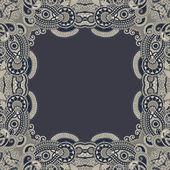 Floral vintage frame — Stock Vector