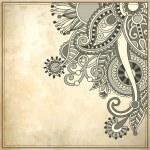 Flower design on grunge background — Stock Vector #18040907