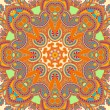 Original retro paisley seamless pattern - Stock Vector