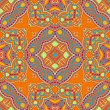 Original retro paisley seamless pattern — Stockvectorbeeld