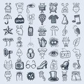 49 手绘图图标集 — 图库矢量图片