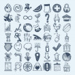 Royalty-Free Stock Vector Image: 49 hand drawing icon set