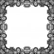 Vintage ornamental template — Stock Vector