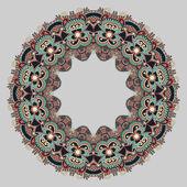 圆形装饰物,观赏圆花边 — 图库矢量图片