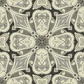 Tradiční dekorativní květinové paisley šátek. — Stock vektor
