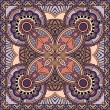 Traditional ornamental floral paisley bandanna. You can use this pattern in the design of carpet, shawl, pillow, cushion — Imagens vectoriais em stock