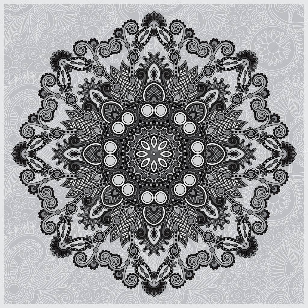 Geometric Pattern Blac...