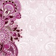 Ornamental floral pattern — Image vectorielle