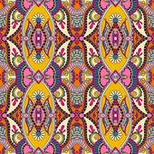 Geometry vintage floral seamless pattern — Vector de stock