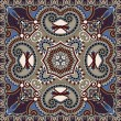 Ornamental floral paisley pattern — Stockvectorbeeld