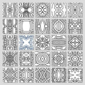 25 seamless pattern collection — Stock Vector