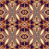 Ornamental floral paisley bandanna — Stock Vector