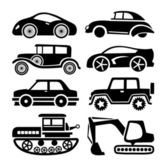 Cars icon — Stockvektor