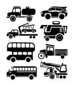 Cars icon — Stock Vector