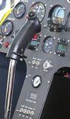 Instrumentpanelen flygplan — Stockfoto