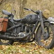 Kiev, Ukraine - November 3: German heavy motorcycle during the S — Stock Photo #34994683