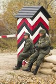 KIEV, UKRAINE -NOV 3. An unidentified members of Red Star histor — Stock Photo