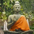 Stock Photo: Statue Buddhism.