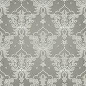 Damask seamless floral pattern — Stock Vector