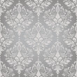 Damask seamless vector pattern - Stok Vektör