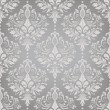 Vettoriale Stock : Damask seamless vector pattern