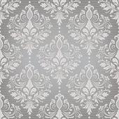 Damask seamless vector pattern — Vettoriale Stock