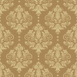 Seamless damask pattern - Stock vektor