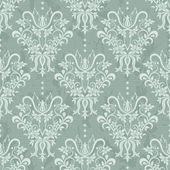 Vector illustration of damask pattern — Vector de stock