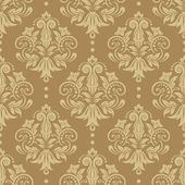 Seamless damask pattern — Stockvector