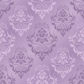 Vector illustration of damask pattern — Stock Vector