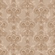 Seamless damask pattern — Vecteur #22358433