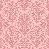 Vector vintage damask seamless pattern element — Stock Vector