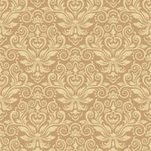Damask seamless silk — Stock Vector