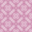 Abstract floral seamless pattern, vector decorative background — 图库矢量图片