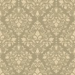 Vintage seamless pattern with Victorian motif - Stockvectorbeeld