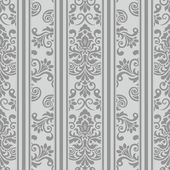 Antique Seamless Vector Pattern — Stock Vector