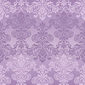 Seamless vintage pattern in purple — Stock Vector